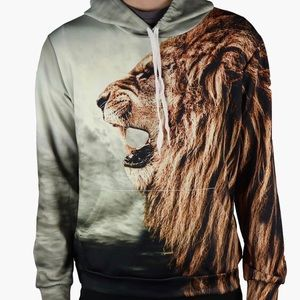 Other - Lion Hoodie! High Quality! All Over Printed!